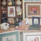 Cross stitch pattern booklet Toys Now and Then by Leisure Arts 496