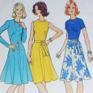 Simplicity 6884 vintage 1970s dress misses sz 16 B38