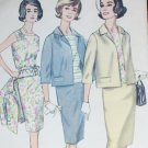 Simplicity 4800 vintage sewing pattern misses suit jacket skirt blouse size 16 B36 circa 1960s