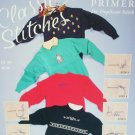 Classic Stitches primer for duplicate stitching on sweaters craft pattern booklet