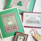 Need'l Love Cross stitch pattern booklet Heart Star Christmas