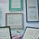 Leisure Arts Cross Stitch Keepsake Samplers leaflet 280 with 9 pattern designs