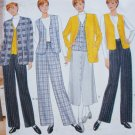 Butterick 4584 sewing pattern career casual outfit skirt jacket vest pants sz 14-18 uncut