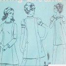 Simplicity 7730 vintage sewing pattern dress 1968 sz 9 JP uncut