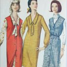 Simplicity 5659 vintage 1964 sewing pattern 1 piece dress jumper sz 16 B36