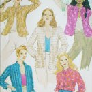 McCall 6876 sewing pattern misses jackets mandarin collars 1979 vintage uncut sz 10