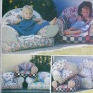 McCall 9665 sewing pattern kid padded chairs home decorating uncut