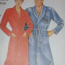 McCall 0011 men or women robe quick wrap sewing pattern sz S-XL uncut