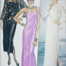 Butterick 6950 sewing pattern evening dress & top jacket size 10 B32 1/2
