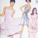 McCall 4237 sewing pattern dress fitted gathered bodice sz 14