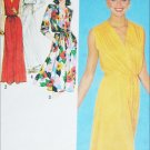 Simplicity 9489 sewing pattern pullover dress gown knit fabrics sz 10