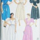McCall 9625 formal prom dress sewing pattern sweetheart neckline 1985 sz 6