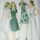 McCall 3608 vintage 1973 sewing pattern misses dress sz 10 B 32 1/2