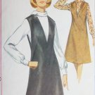 Simplicity 5633 vintage 1964 sewing pattern jumper blouse sz 16 B 36