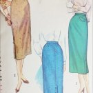 Simplicity 1817 vintage 1956 sewing pattern misses straight skirt sz 30 waist