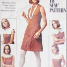 Simplicity 8060 vintage 1968 sewing pattern simple dress with detachable collars sz 18 B40