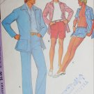 McCall 3581 vintage 1973 sewing pattern man's jacket pants shorts swim trunk sz 38 W32