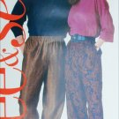 Butterick See and Sew pattern 5038 tapered pants 3 pieces sz XS S M