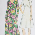 Simpicity 5850 sewing pattern vintage 1973 dress sz 14
