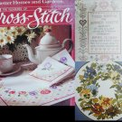 Pleasures of Cross Stitch pattern book Better Homes and Gardens hardcover