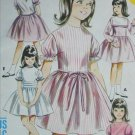 Butterick 3345 vintage sewing pattern child dress sz 8 B26 uncut