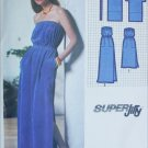 Simplicity 9032 jiffy sewing pattern pullover sleeveless dress stretch knits sz 10-12