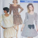 Butterick 5869 sewing pattern dress balloon button size 12 14 16