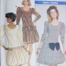 Butterick 5869 sewing pattern dress balloon button size 12 14 16