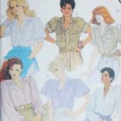 McCall 2955 sewing pattern misses blouses size 8 B 31 1/2