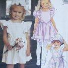 McCall 4668 sewing pattern girl dress size 2 3 4 UNCUT