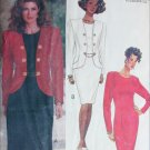 Butterick 5171 sewing pattern dress and jacket size 12 14 16 UNCUT