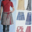 Simplicity 6540 sewing pattern New Look skirts sizes 3 to 18 UNCUT