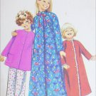 Simplicity 9688 sewing pattern child girl robe size 5 B24