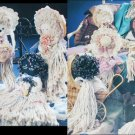 Craft and sewing pattern Mop Doll Heaven 11 dolls Santa clown