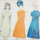 McCall 8865 vintage 1967 sewing pattern dress size 16 Bust 36 UNCUT