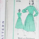 Vintage designer sewing pattern Willi of California dress circa 1960s UNCUT size 16 B38