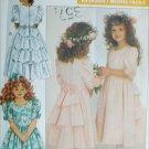 Butterick 4528 sewing pattern flower girl fancy dress sizes 5 6 6X UNCUT