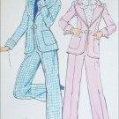 Simplicity 6293 vintage 1974 sewing pattern misses pant suit size 14 UNCUT