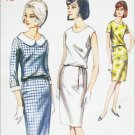 Butterick 3814 vintage 1960s sewing pattern misses dress size 20 B40 UNCUT