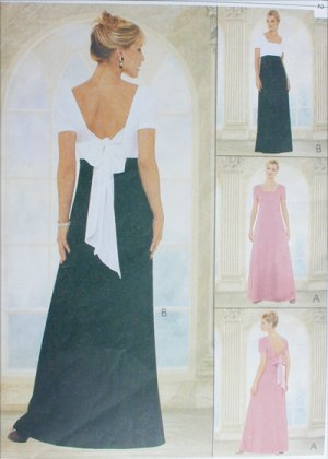 Prom or Bridesmaid dress Sewing pattern 80s by paisleypath on Etsy