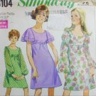 Simplicity 8104 vintage 1969 sewing pattern dress size 9 JP B33