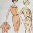 Simplicity 6658 vintage 1960s sewing pattern jacket dress size 12 B32 UNCUT