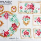 Daisy Kingdom no sew fabric appliques summer flowers