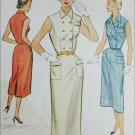 McCall 9326 vintage 1953 sewing pattern dress size 12 B30