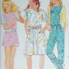 Butterick 3716 sewing pattern children girl dress jumpsuit UNCUT sizes 7 8 10