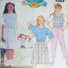 Butterick 3141 girls vest top skirt pants plus Cabbage patch doll outfit UNCUT size 7 8 10