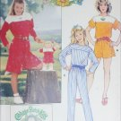 Butterick 3085 sewing pattern girl jumpsuit size 7 8 10 plus cabbage Patch Doll outfit UNCUT