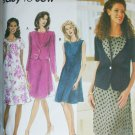 Simplicity 7117 sewing pattern misses jacket and dress sizes 20 22 24