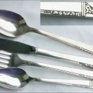 Oneida silverplate Caprice 4 piece place setting 1937 flatware