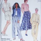 McCall 8166 sewing pattern jacket pants skirt size 18 20 22 UNCUT